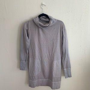 Athleta Cowl Neck Sweatshirt Dress Size XS
